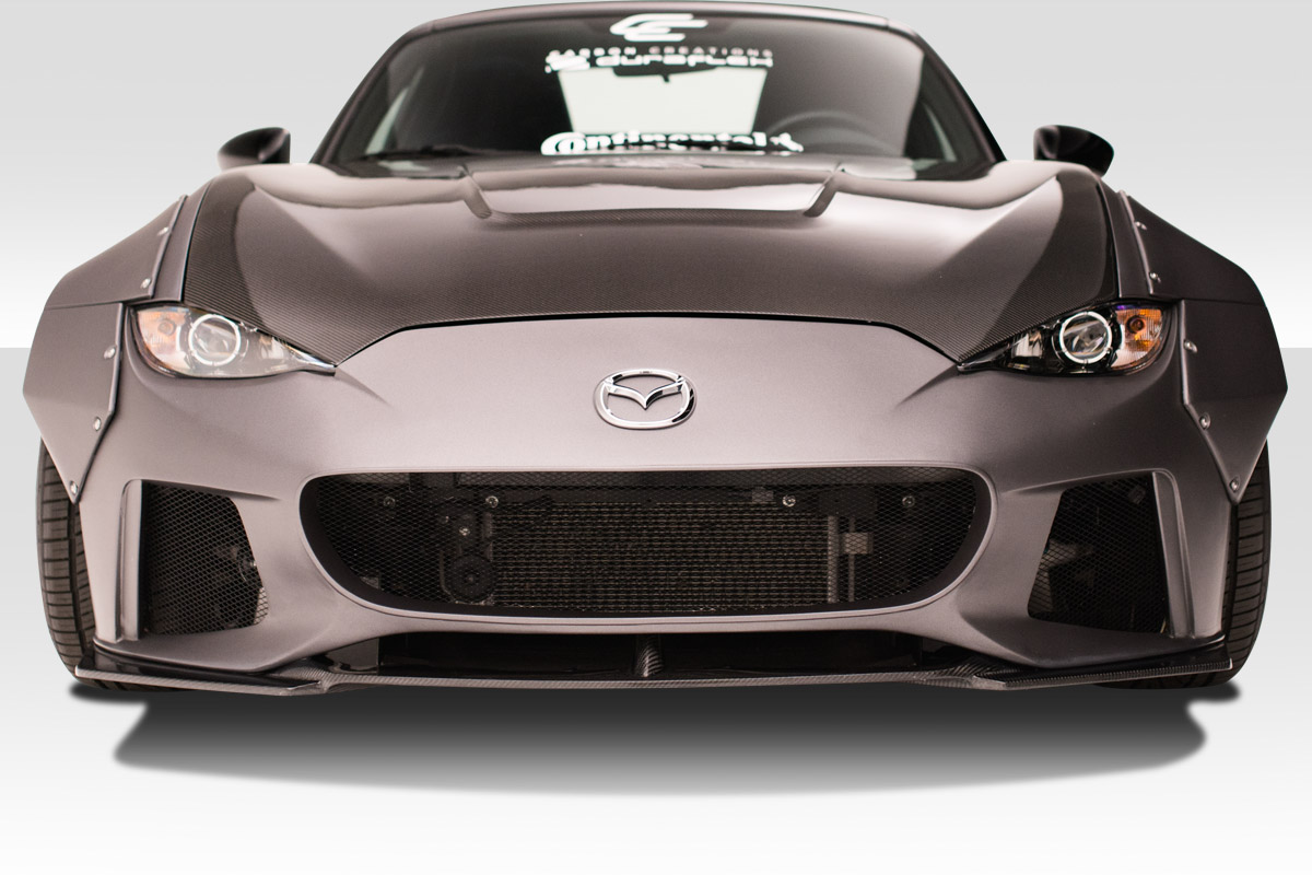 2016-2020 Mazda Miata Duraflex Circuit Front Bumper - 1 Piece