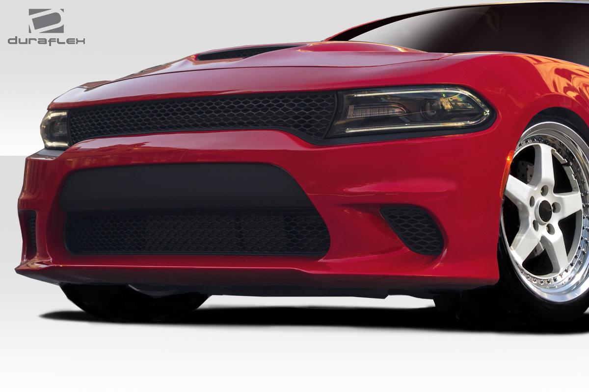 2015-2020 Dodge Charger Duraflex Hellcat Look Front Bumper - 1 Piece