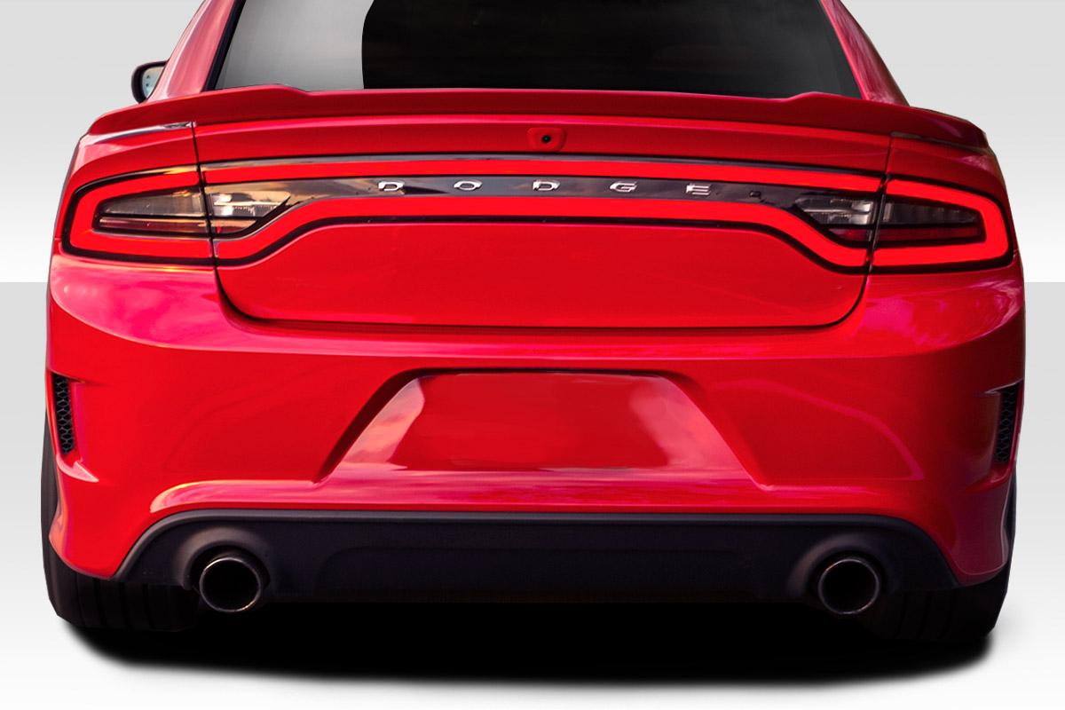 2015-2020 Dodge Charger Duraflex Hellcat Look Rear Bumper - 1 Piece