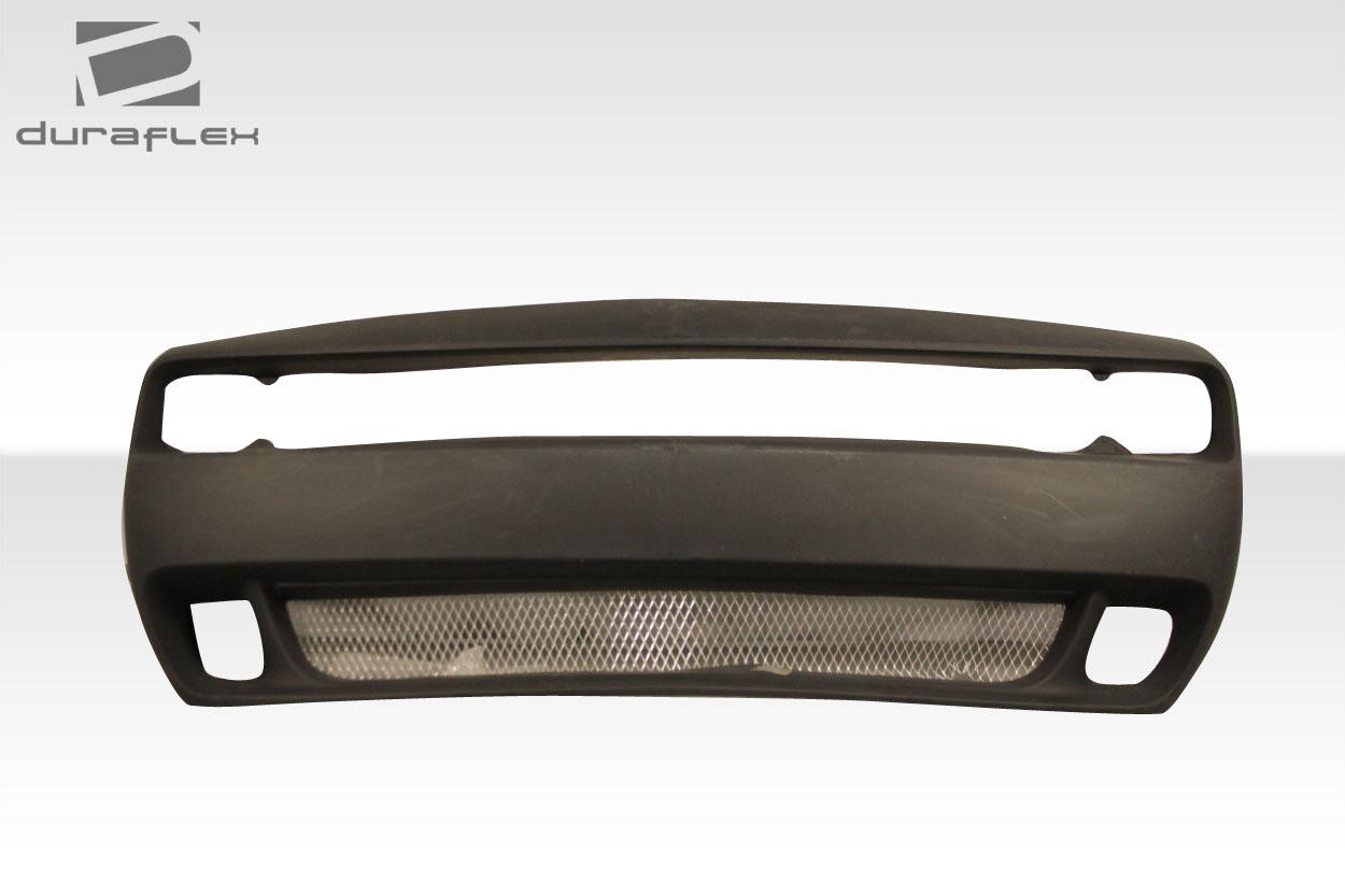 2015-2020 Dodge Challenger Duraflex Hellcat Look Front Bumper - 1 Piece