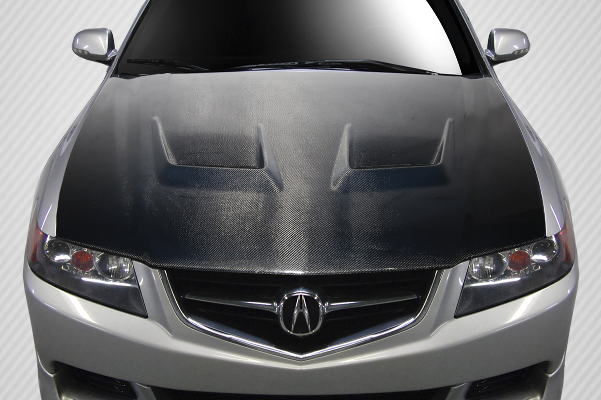 2004 2005 Acura Tsx Carbon Creations Dritech Jupiter Hood 1 Piece S Automotive Services In Oceanside Ca Sos Customz