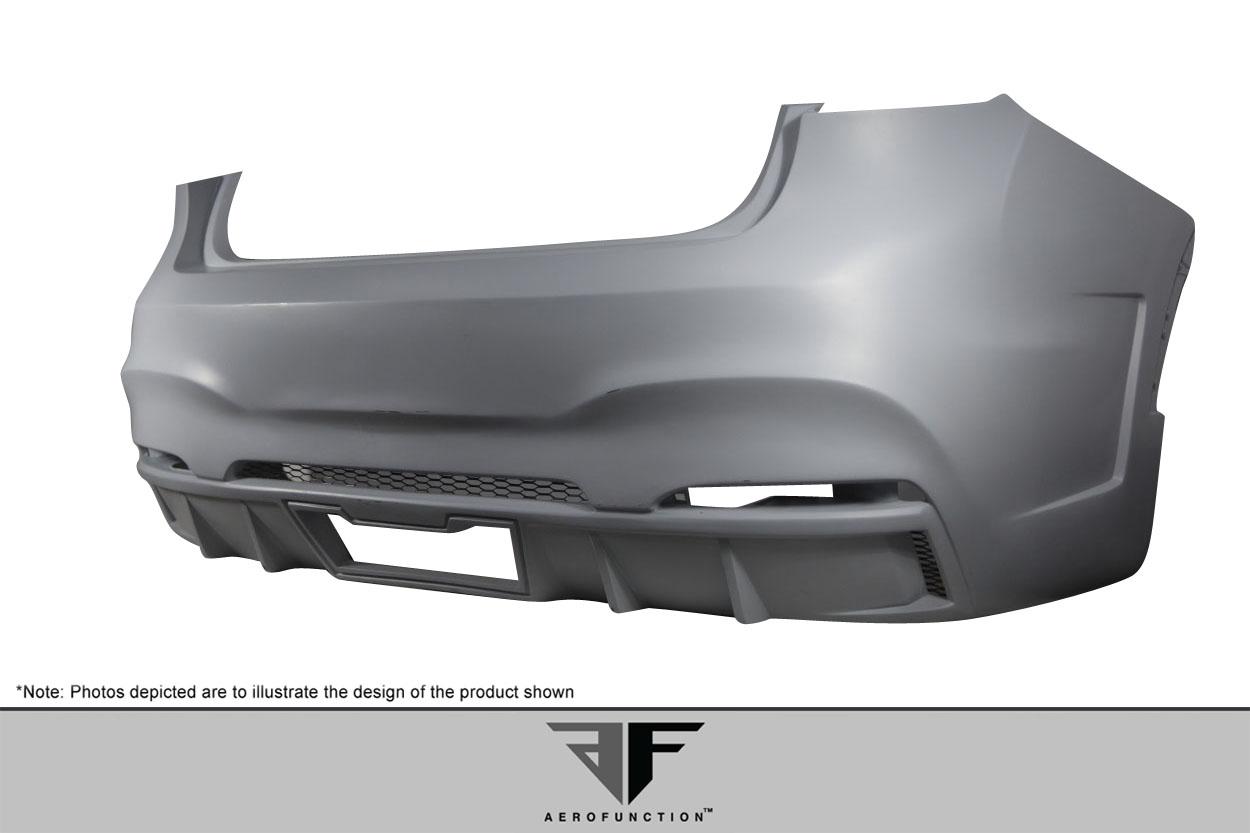 2015-2019 BMW X6 F16 / X6M F86 AF-1 Rear Bumper ( GFK ) - 1 Piece