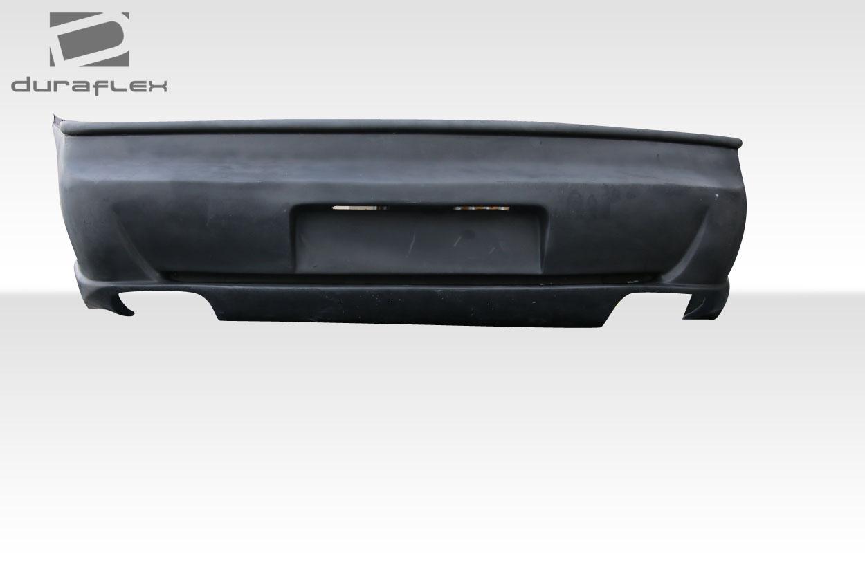 1984-1988 Pontiac Fiero Duraflex F355 Rear Bumper - 1 piece