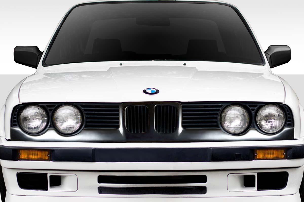 1984-1991 BMW 3 Series E30 Duraflex Badboy Grille Headlight Trim- 1 Piece