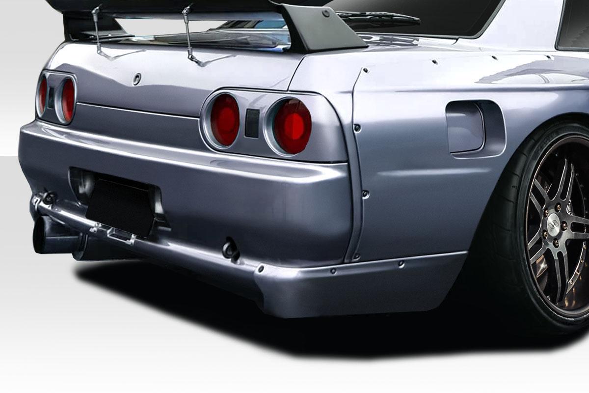 1989-1994 Nissan Skyline R32 2DR Duraflex TKO RBS Rear Add Ons Spat Extensions - 2 Piece