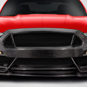 2015-2017 Ford Mustang Carbon Creations GT350 Look Front Bumper - 1 Piece