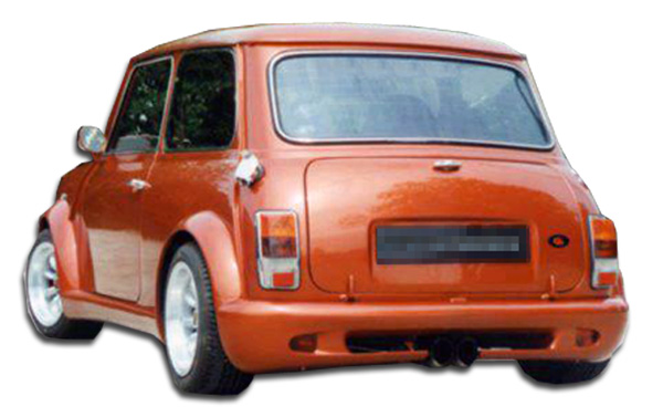 1959-2000 Mini Cooper Duraflex Type Z Wide Body Rear Bumper Cover - 1 Piece