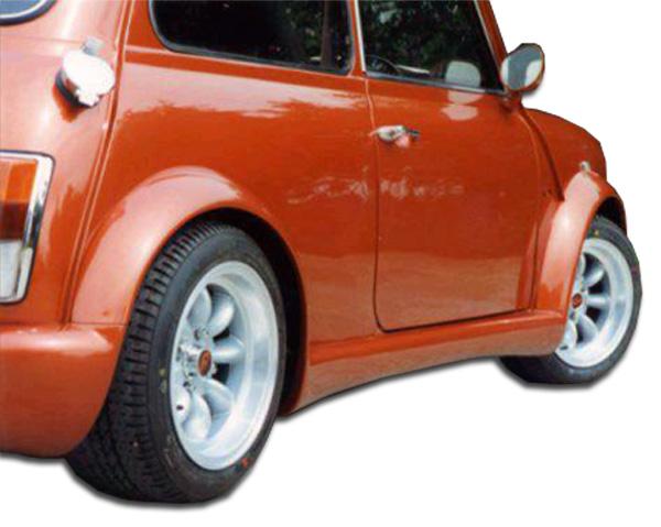 1959-2000 Mini Cooper Duraflex Type Z Wide Body Side Skirts Rocker Panels - 2 Piece
