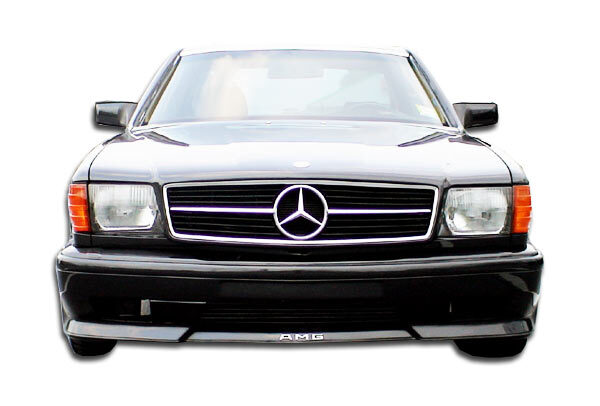 1981-1991 Mercedes S Class W126 2DR Duraflex AMG Look Front Bumper Cover - 1 Piece