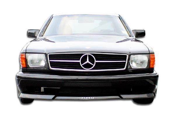 1981-1991 Mercedes S Class W126 4DR Duraflex AMG Look Front Bumper Cover (euro spec) - 1 Piece