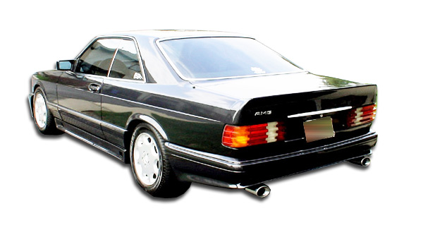 1981-1991 Mercedes S Class W126 4DR Duraflex AMG Look Rear Bumper Cover (euro spec) - 1 Piece