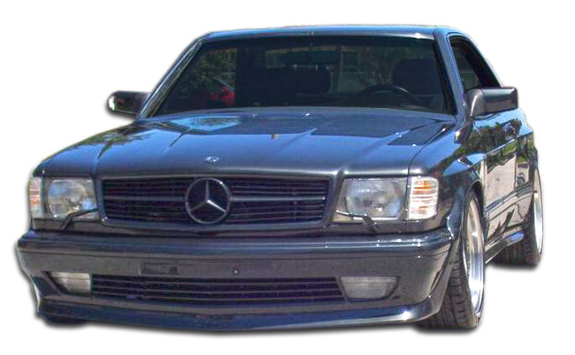 1981-1991 Mercedes S Class W126 2DR Duraflex AMG Look Wide Body Front Bumper Cover - 1 Piece