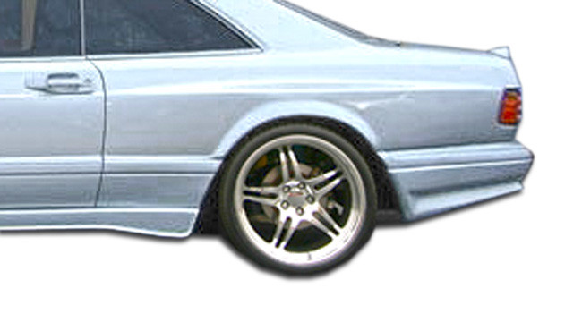 1981-1991 Mercedes S Class W126 2DR Duraflex AMG Look Wide Body Rear Fender Flares - 2 Piece