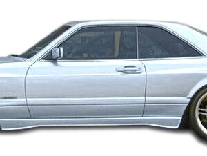 1981-1991 Mercedes S Class W126 2DR Duraflex AMG Look Wide Body Front Fenders - 2 Piece