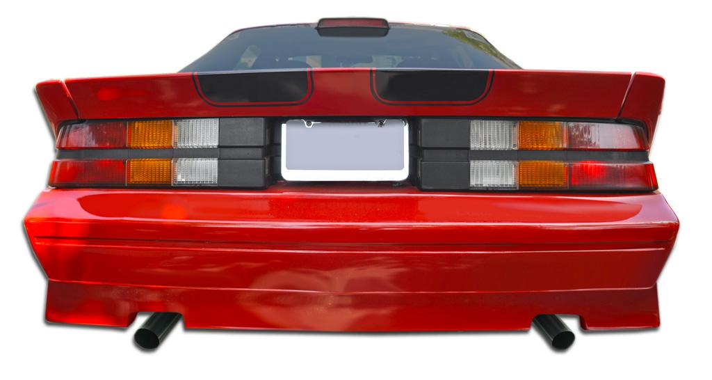 1982-1992 Chevrolet Camaro Duraflex GT Concept Rear Bumper Cover - 1 Piece