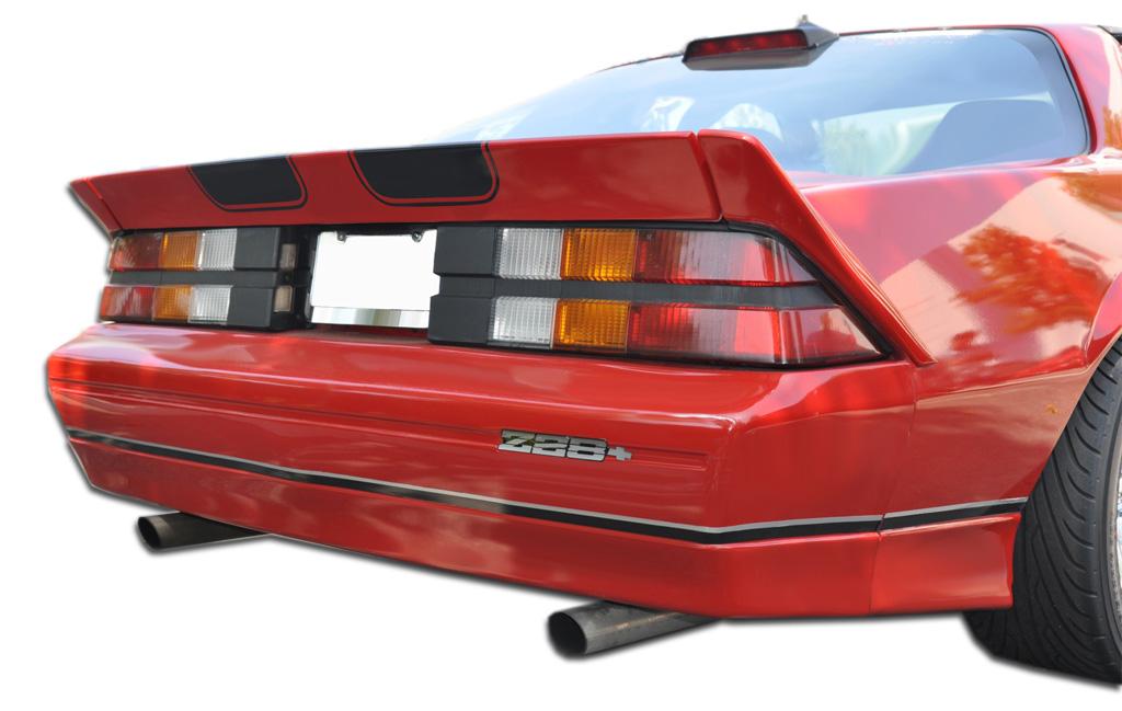 1982-1992 Chevrolet Camaro Duraflex Iroc-Z Look Rear Bumper Cover - 3 Piece