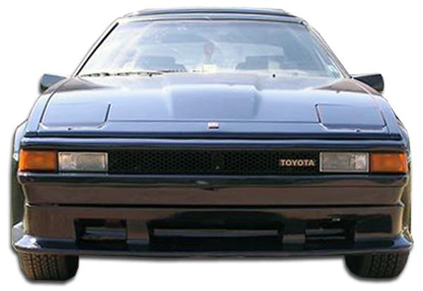1982-1986 Toyota Supra Duraflex F-1 Front Lip Under Spoiler Air Dam - 1 Piece