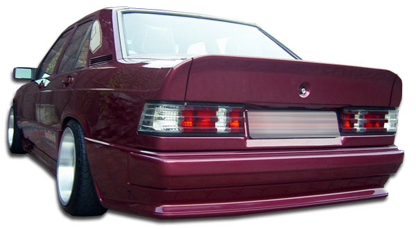 1984-1993 Mercedes 190 W201 Duraflex AMG Look Rear Bumper Cover - 1 Piece (S)