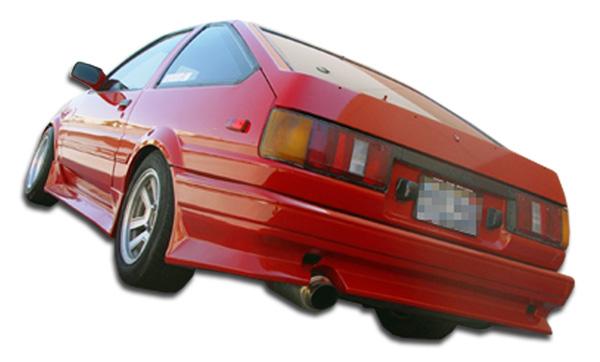 1984-1987 Toyota Corolla 2DR / HB Duraflex V-Speed Rear Bumper Cover - 1 Piece