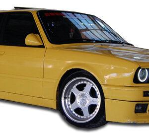 1984-1991 BMW 3 Series E30 2DR Duraflex M-Tech Door Caps - 2 Piece