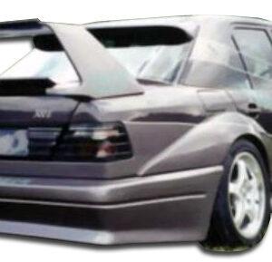 1986-1995 Mercedes E Class W124 4DR Duraflex Evo 2 Wide Body Rear Bumper Cover - 1 Piece (S)