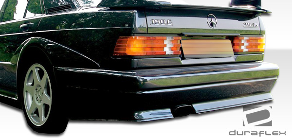 1984-1993 Mercedes 190 W201 Duraflex Evo 2 Wide Body Rear Bumper Cover - 1 Piece