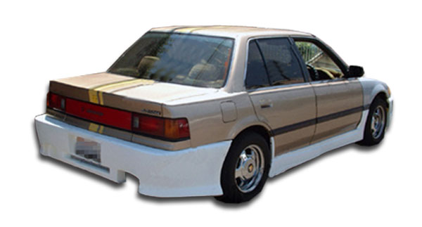 1988-1991 Honda Civic 4DR Duraflex Spyder Rear Bumper Cover - 1 Piece (S)