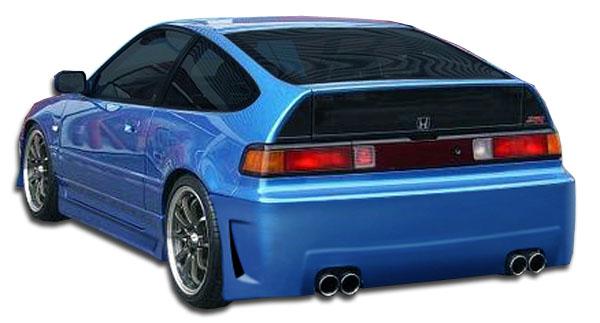 1988-1991 Honda CR-X Duraflex B-2 Rear Bumper Cover - 1 Piece (S)