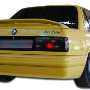 1984-1987 BMW 3 Series E30 2DR 4DR Duraflex M-Tech Rear Bumper Cover - 1 Piece