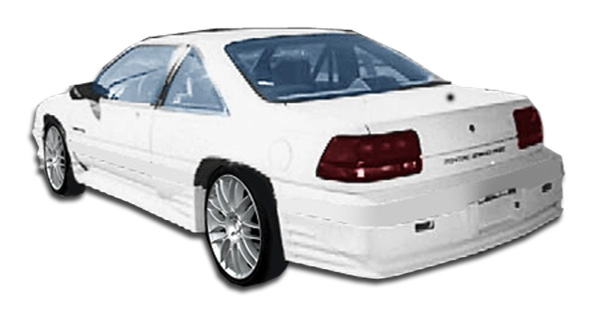 1988-1991 Pontiac Grand Prix Duraflex Racer Rear Lip Under Spoiler Air Dam - 1 Piece (S)