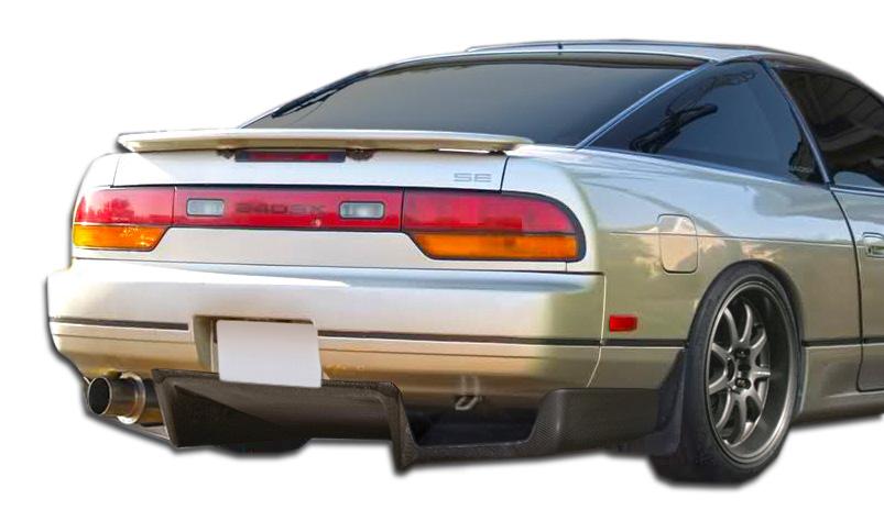 1989-1994 Nissan 240SX S13 HB Carbon Creations Fulvius Rear Diffuser - 3 Piece