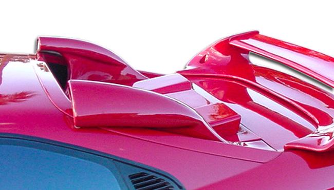 1991-1995 Toyota MR2 Duraflex Type T Air Scoop (Driver's Side) - 1 Piece
