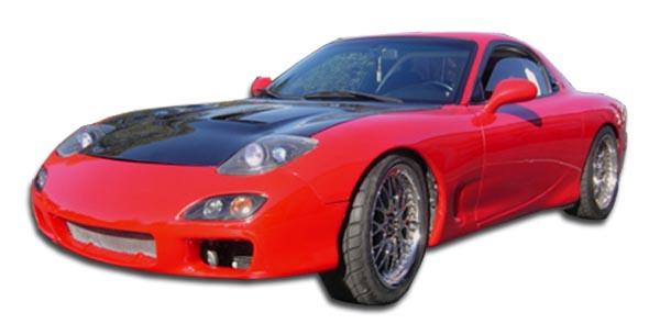1993-1997 Mazda RX-7 Polyurethane Spec-R Front Bumper Cover - 1 Piece (S)