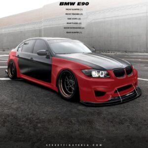 BMW E90 WTCC 4 DOOR KIT