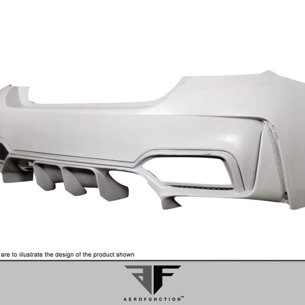 2015-2020 BMW M4 F82 AF-1 Wide Body Rear Bumper ( GFK ) - 1 Piece
