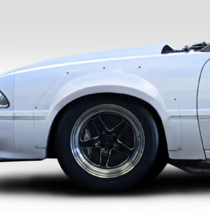 """1979-1993 Ford Mustang Duraflex C Tech 2"""" Wide Body Front Fender Flares - 2 Piece"""
