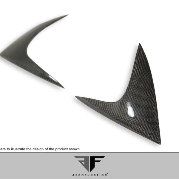2011-2014 Porsche Cayenne Carbon AF-1 Taillamp Covers ( CFP ) - 2 Piece (S)