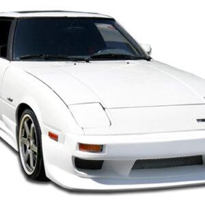 1979-1985 Mazda RX-7 Duraflex GP-1 Body Kit - 4 Piece - Includes GP-1 Front Bumper Cover ( 103638) GP-1 Side Skirts Rocker Panels (103639) GP-1 Rear Bumper Cover (103640)