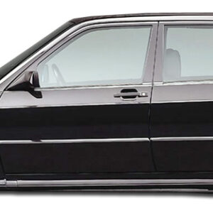 1984-1993 Mercedes 190 W201 Duraflex Evo 2 Wide Body Door Caps - 4 Piece